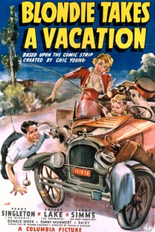 Affiche du film Blondie Takes a Vacation