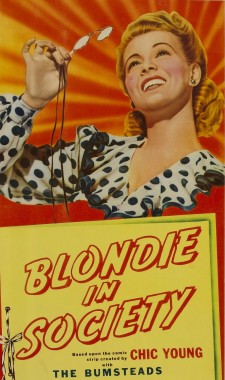 Affiche du film Blondie in Society