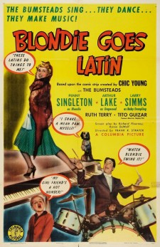 Affiche du film Blondie Goes Latin