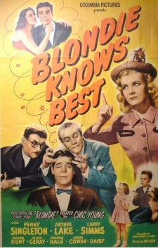 Affiche du film Blondie Knows Best