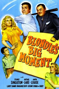 Affiche du film Blondie's Big Moment
