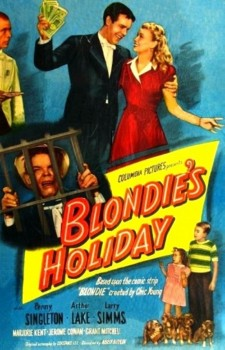 Affiche du film Blondie's Holiday
