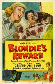 Affiche du film Blondie's Reward