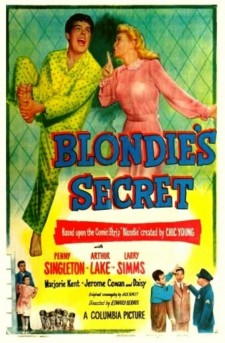 Affiche du film Blondie's Secret