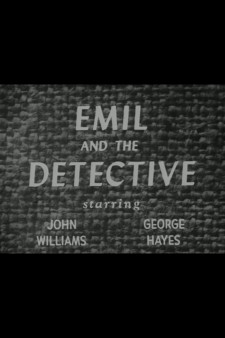 Affiche du film Emil and the Detective