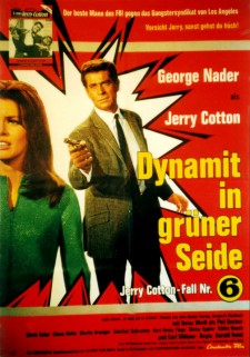 Affiche du film Jerry Cotton: Dynamit in grüner Seide