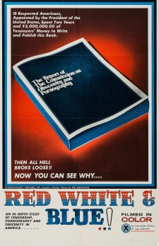 Affiche du film Red, White and Blue
