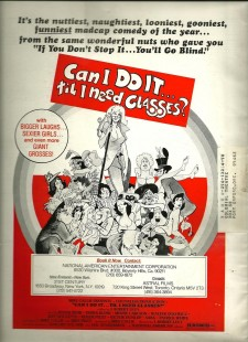 Affiche du film Can I Do It Till I Need Glasses?