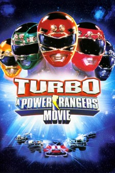Affiche du film Power rangers turbo, le film