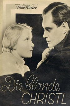 Affiche du film Die blonde Christl