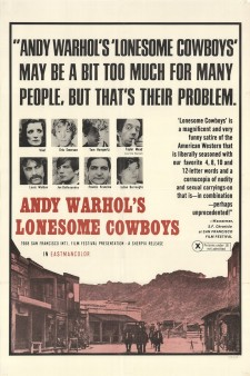 Affiche du film Lonesome Cowboys