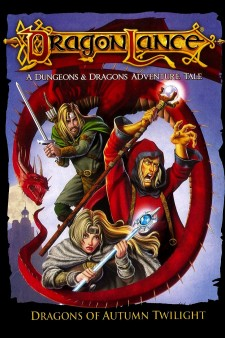 affiche du film Dragonlance: Dragons Of Autumn Twilight