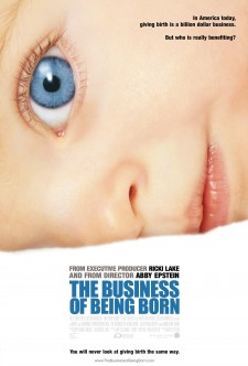 Affiche du film The Business of Being Born