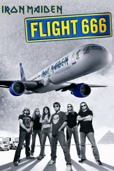 Affiche du film Iron Maiden: Flight 666