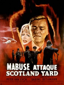 Mabuse attaque Scotland Yard