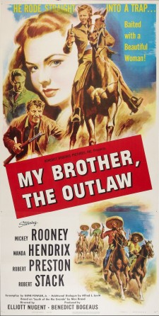 Affiche du film My Outlaw Brother