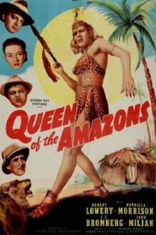 Affiche du film Queen of the Amazons