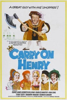 Affiche du film Carry On Henry