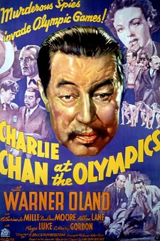 Affiche du film Charlie Chan at the Olympics
