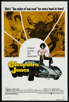 Affiche du film Cleopatra Jones