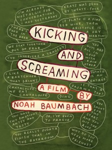 Affiche du film Kicking and Screaming