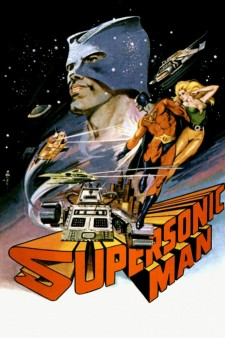 Affiche du film Supersonic Man