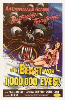 Affiche du film The Beast with a Million Eyes