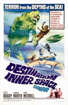 Affiche du film Destination Inner Space