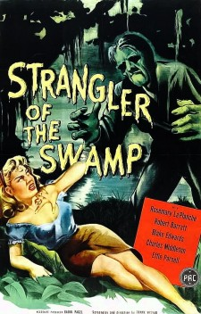 Affiche du film Strangler of the Swamp
