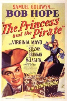 Affiche du film The Princess and the Pirate