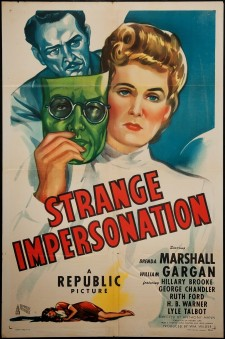 Affiche du film Strange Impersonation