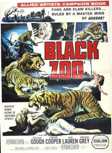 Affiche du film Black Zoo
