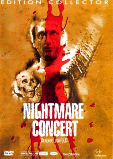 Affiche du film Nightmare concert