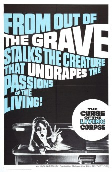 Affiche du film The Curse of the Living Corpse