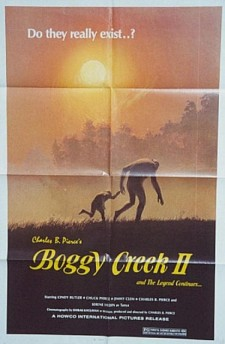 Affiche du film The Barbaric Beast of Boggy Creek, Part II