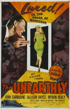 Affiche du film The Unearthly