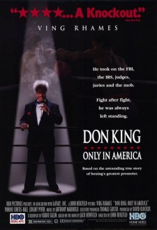 Affiche du film Don King: Only in America