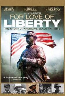 Affiche du film For Love of Liberty: The Story of America's Black Patriots
