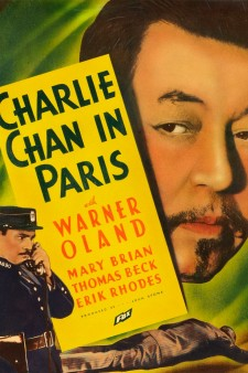 Affiche du film Charlie Chan in Paris