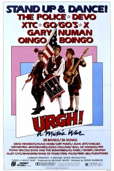 Affiche du film Urgh! A Music War