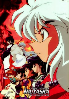 Affiche du film Inuyasha the Movie 4: Fire on the Mystic Island