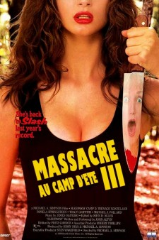 Affiche du film Massacre au camp d'été 3