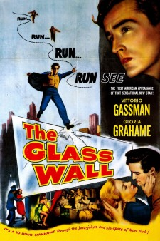 Affiche du film The Glass Wall