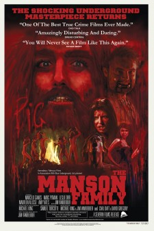 Affiche du film The Manson Family