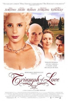 Affiche du film The Triumph of Love
