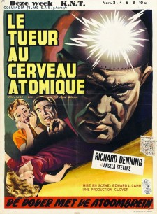 Affiche du film Creature with the Atom Brain