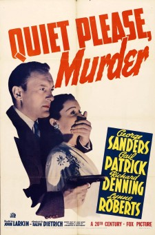Affiche du film Quiet Please Murder