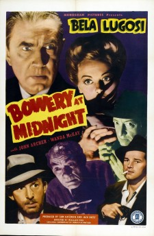Affiche du film Bowery at Midnight