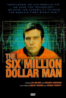 Affiche du film The Six Million Dollar Man