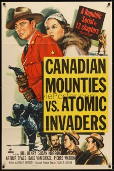 Affiche du film Canadian Mounties vs. Atomic Invaders